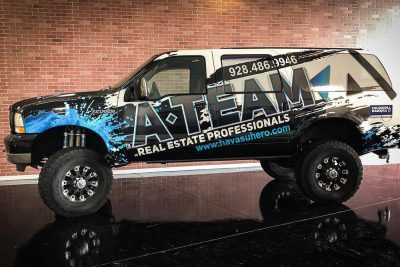 A-Team Real Estate Wrap, IMPACT Auto Wraps in Lake Havasu City