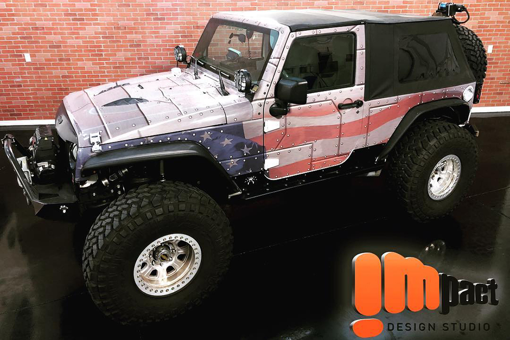 Jeep Wraps by IMPACT, Lake Havasu City