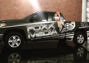 Foxx Media Toyota Truck Wrap by IMPACT, Lake Havasu City