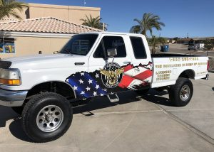 Freedom Roofing Truck Wrap by IMPACT, Lake Havasu City
