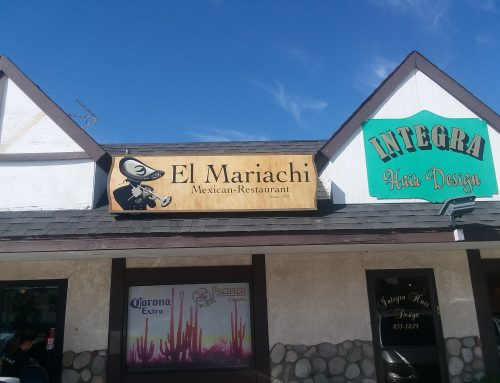 El Mariachi Backlit Sign
