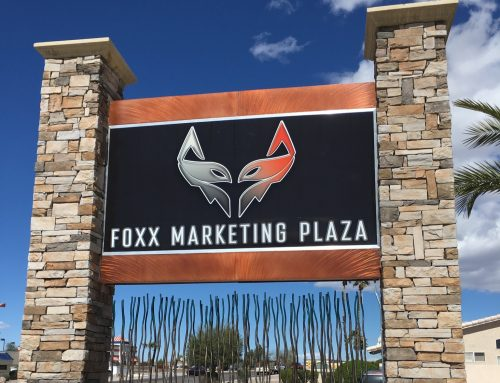 Foxx Media Backlit Sign