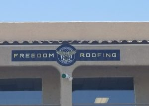 Freedom Roofing Sign by impact