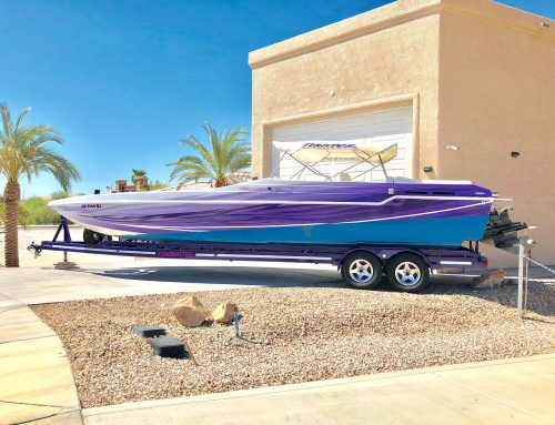 Performance Boat Wrap