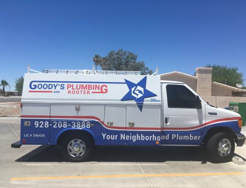 Goody's Plumbing Partial Wrap and Decals