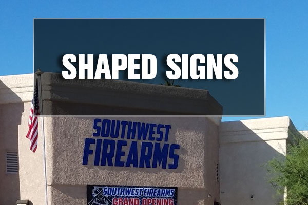 shaped and custom signage in lake havasu city