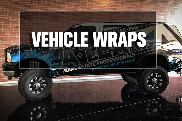 VEHCILE WRAPS LAKE HAVASU CITY